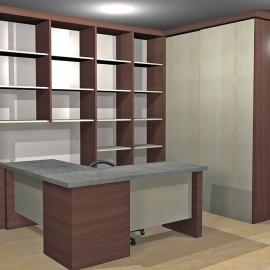 Mourot agencement am nagement int rieur for Mobilier bureau particulier