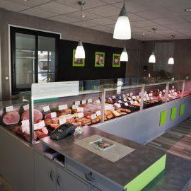 Mourot agencement boucherie for Meuble cuisine delacroix
