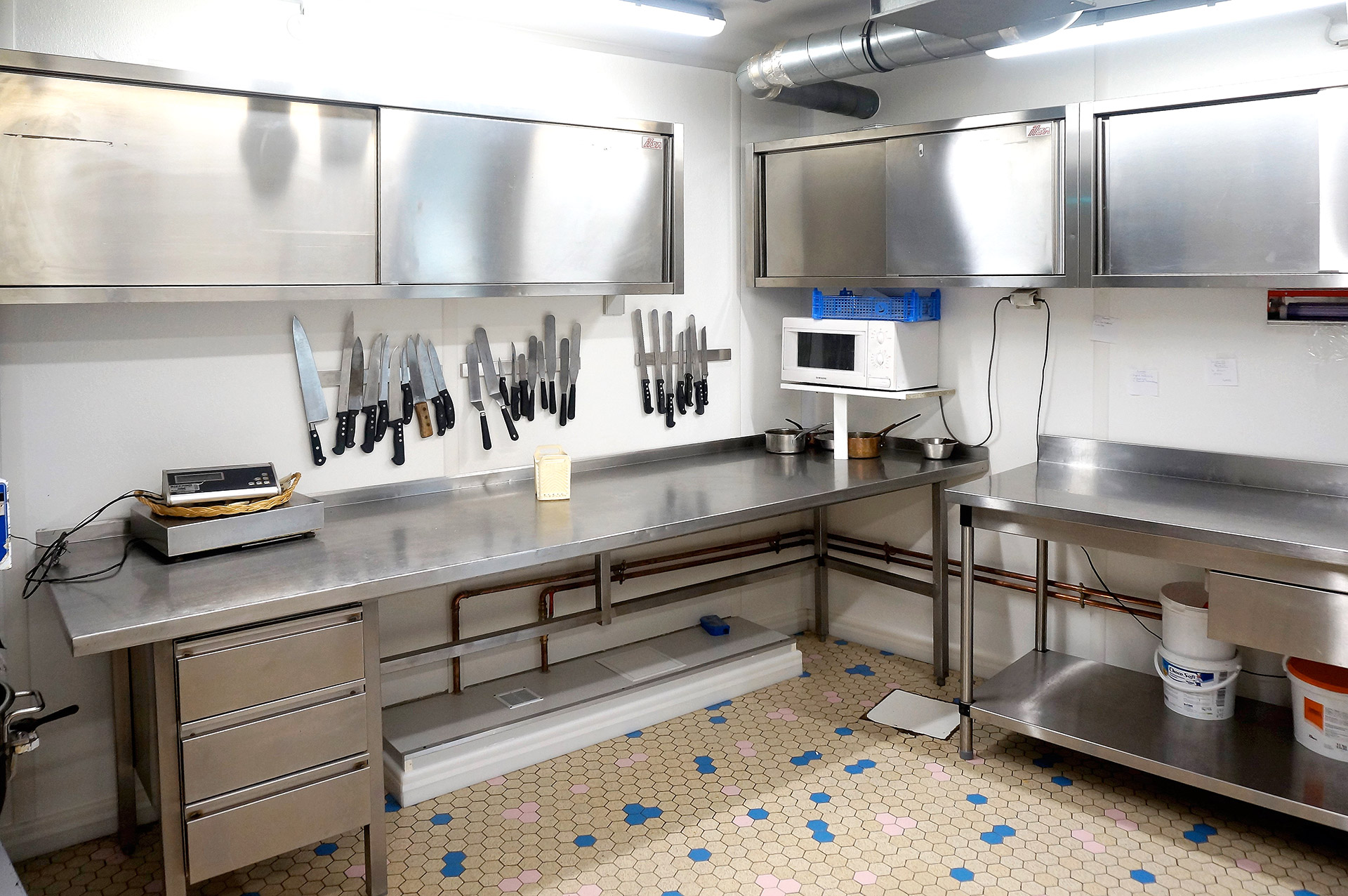 Renovation laboratoire alimentaire