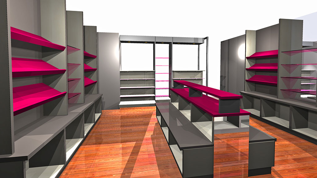 meubles pour magasin de chaussures. Black Bedroom Furniture Sets. Home Design Ideas